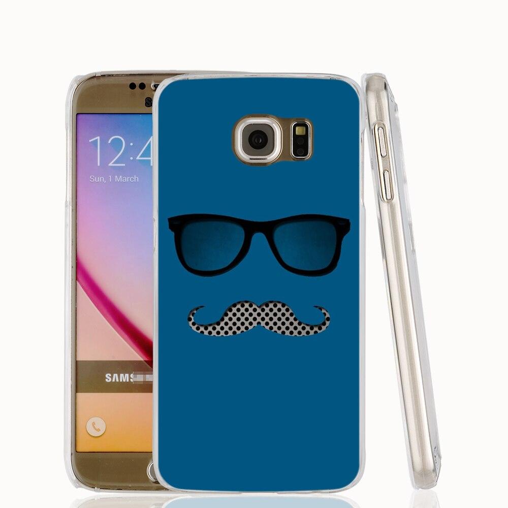 17156 <font><b>Glasses</b></font> and <font><b>Mustache</b></font> cell phone protective <font><b>case</b></font> cover for <font><b>Samsung</b></font> <font><b>Galaxy</b></font> A3 A5 A7 A8 A9 2016
