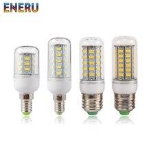 LED Bulb E27 E14 Corn Bulb 24 36 48 56 69 72LEDs SMD5730 220V LED Lamp Chandelier Candle LED Light For Home Decoration Lamps недорого