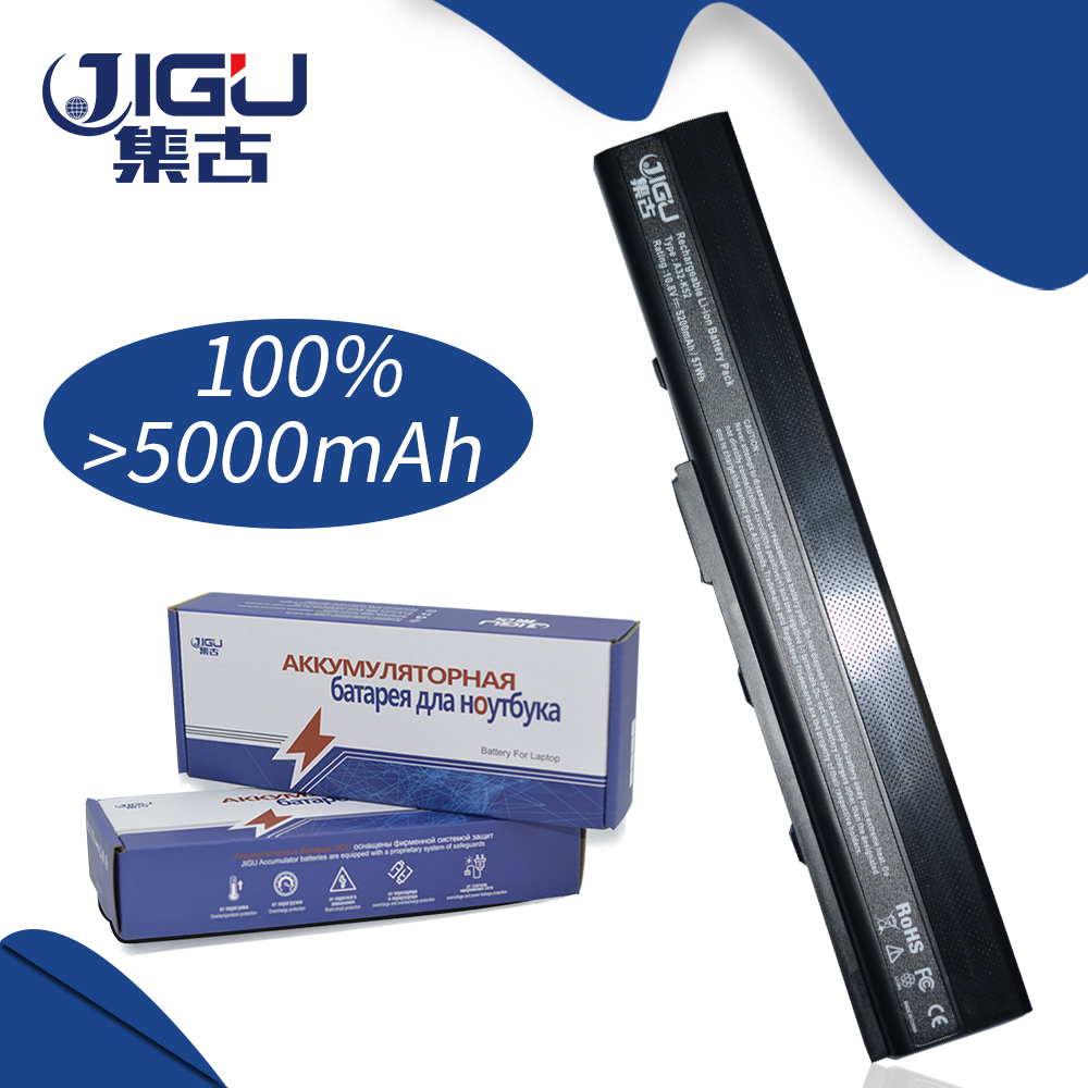 JIGU Laptop Battery For Asus K52 K52J K52JB K52JC K52JE K52JK K52JR K52N K52D K52DE K52DR K52F K62 K62F K62J K62JR N82