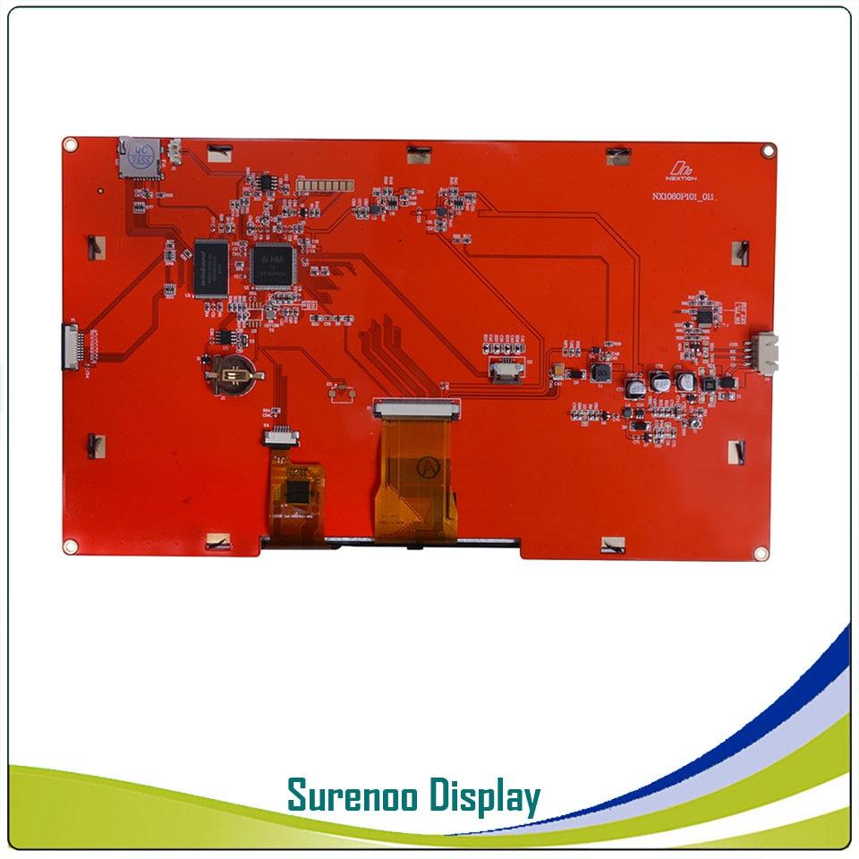 10,1 NX1060P101 Nextion Интеллектуальный HMI USART UART последовательный TFT ЖК модуль Дисплей резистивный или емкостный дисплей Панель для Arduino - 6