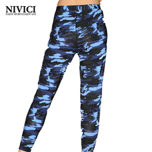 2017 New Women Yoga Pants Sports Trousers Comfortable Breathable High Waist Fitness Two Colors Female Dancing Leggings Outdoor