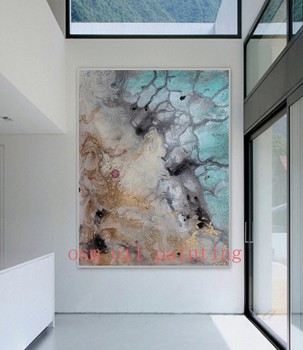 Drawing Colorful Picture Home Decorative Handmade Wall Art