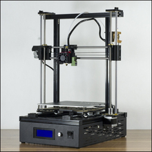 DMS DP5 200*200*270 Auto leveling 3D Printer,10 mins install,24V power supply,metal remote feed extruder,200W hot bed,metal base