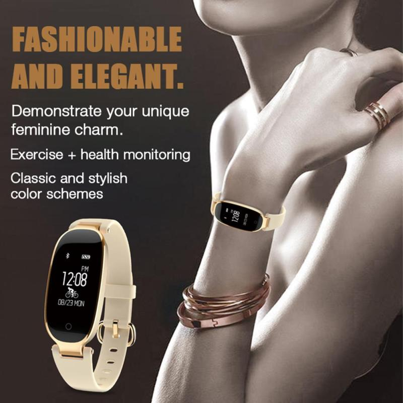 Fashion Ladies Bluetooth Waterproof Smart Watch S3 Women Heart Rate Monitor Fitness Tracker Smart watch for Android IOS E loft iron pendant light indutrial vintage loft bar cafe restaurant nordic country style birdcage pendant lights hanging lamp