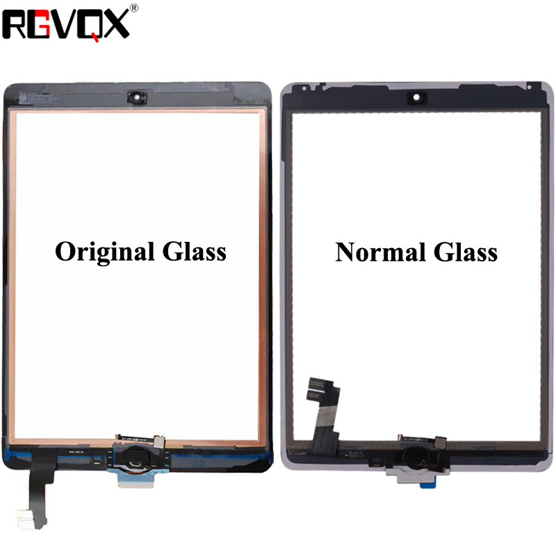 Original For iPad mini 1 2 Touch Screen Glass Digitizer Replacement Home Button