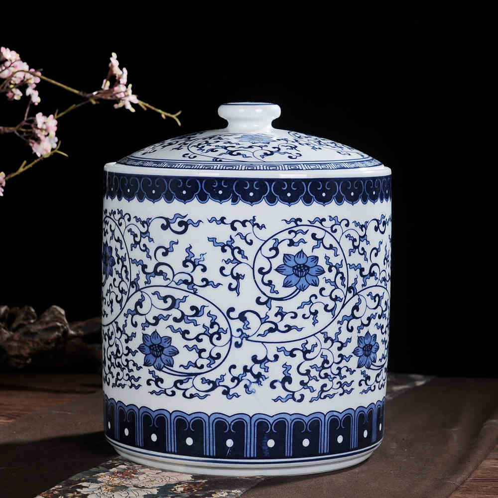 porcelain ginger jar - Ginger Jars