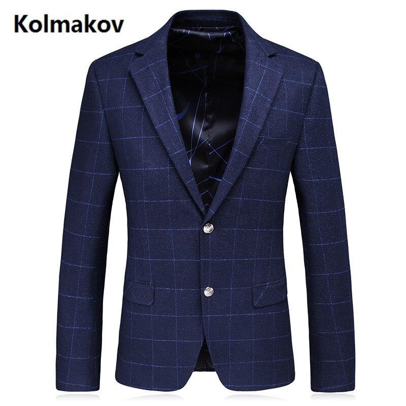 KOLMAKOV 2017 new fashion single breasted Men