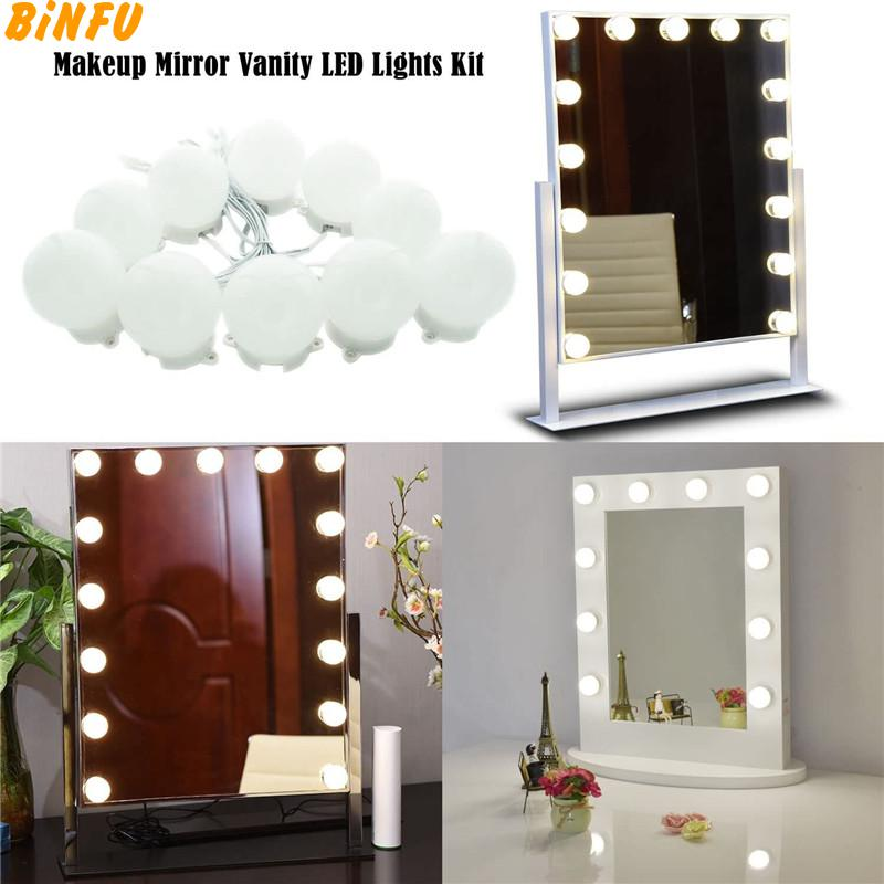 Hollywood Style Led Vanity Mirror Makeup Lights Kit With