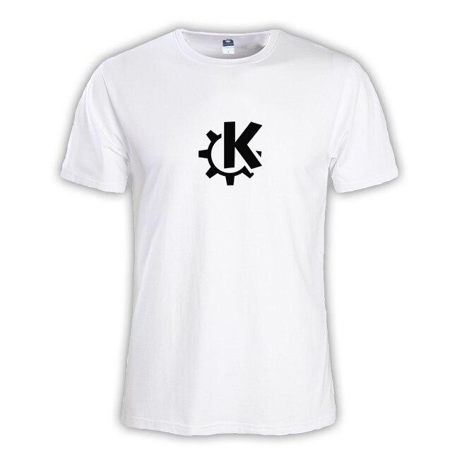 2018 Летняя мода Для мужчин футболка мастер NERD freak хакер pc gamer программиста систем топы для мальчиков футболки мужской Linux KDE Большие размеры Од...