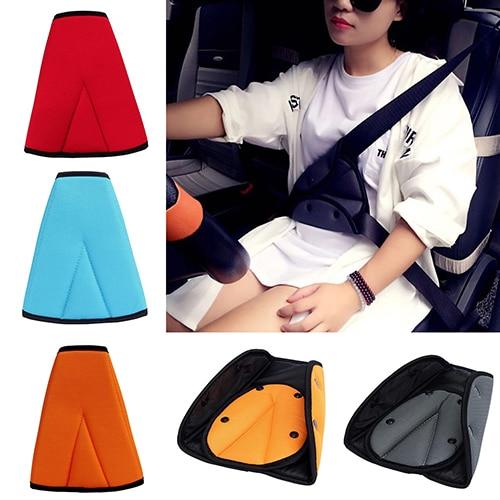 New Arrival Kids Children Car Safety Cover Strap Adjuster Pad Harness Seat Belt Clip
