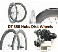 700C Road Disc Brake wheelset 38mm/45mm/50mm/60mm tubular/clincher wheels road bicycle carbon 25mm width rims