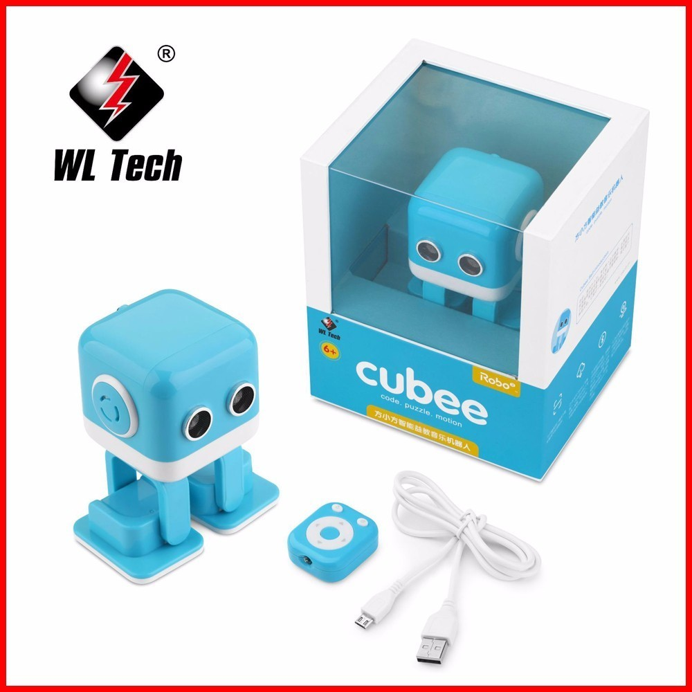 Wltoys F9 RC Mini robot Toys IOS /Android /Infrared control APP Control Puzzle Intelligent Toys Robot for Children new year gift diy assembly puzzle metal intelligent control robot children educational toys