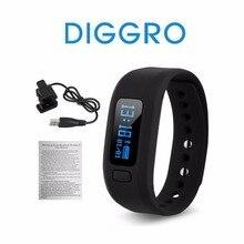 Оригинальный diggro перемещение UP2 шагомер Фитнес трекер сна Мониторы Bluetooth 4.0 Смарт часы браслет для iPhone IOS Android