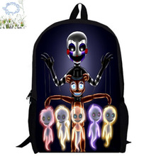 16Inch Five Nights At Freddy Backpack Customized Mochila Children Boy Girl School Bag Teenage Gift Free Shipping A037