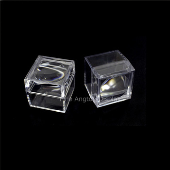 Pack of 12 Plastic Magnifier Box Bug Viewer With Crystal Clear Image