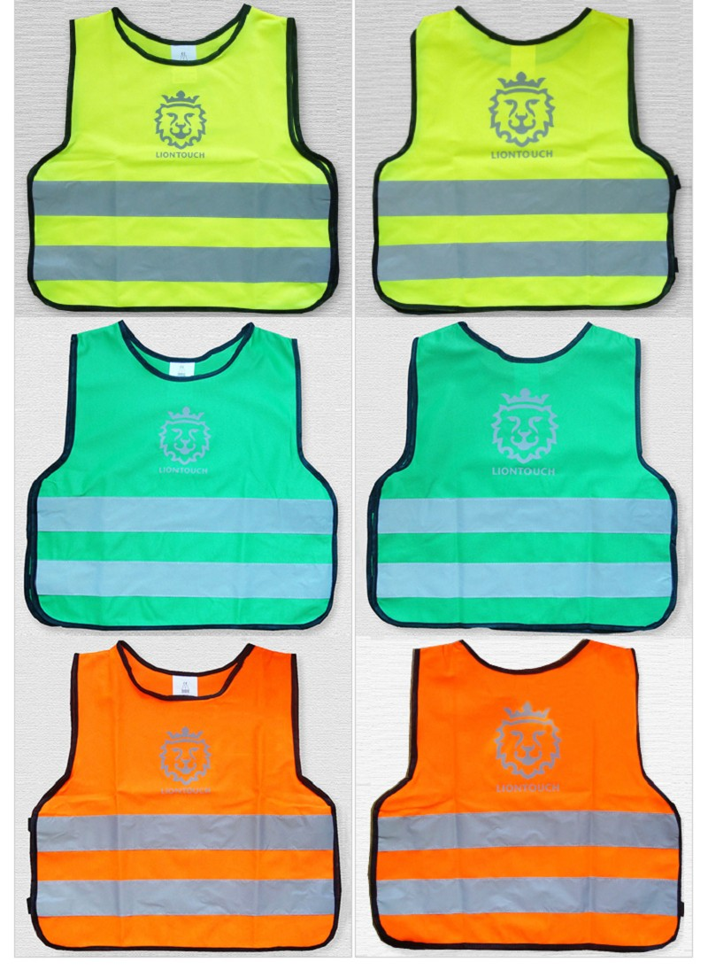 Children reflective vests 2