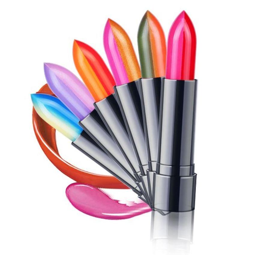 Dobbelt Farve Lip Gloss Lipgloss Makeup Flydende Læbestift-9273