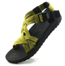 Vietnam shoes male sandals lovers design outdoor men's sandals summer