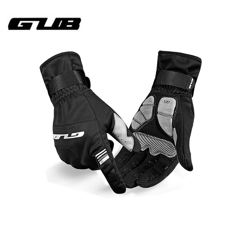 GUB S089 Bicycle Gloves Touch Screen Bike Gloves Winter Warm Windproof Waterproof Full Finger Cycling Glove Anti slip Men Women|Cycling Gloves| |  - title=
