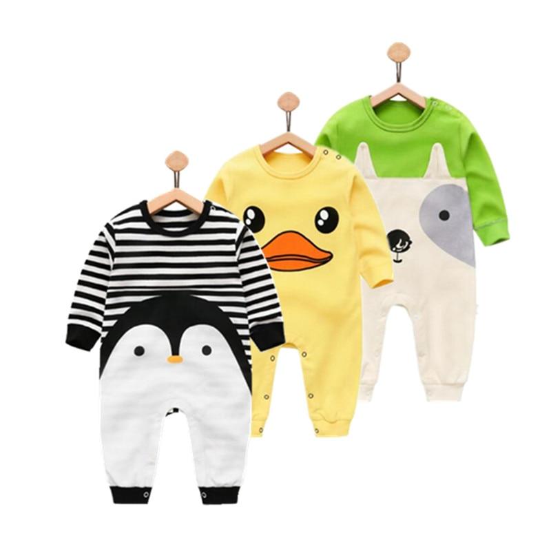 Orangemom 2019 pasgeboren baby meisje jongen dragen puur katoen baby kleding, mode baby boy kleding kinderen rompertjes 100% katoen lichaam