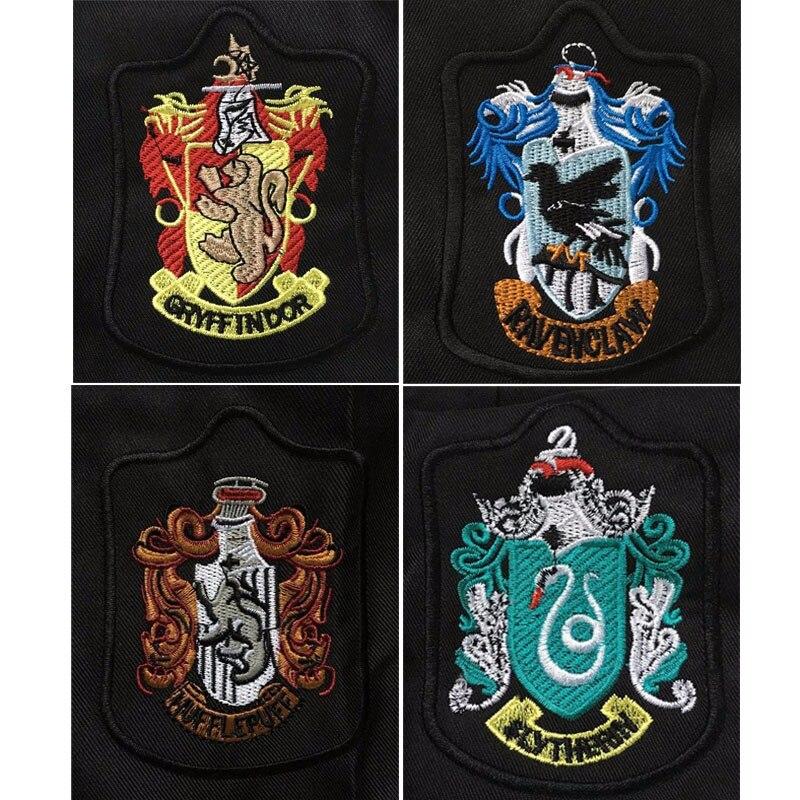 TELEGLO Enfants Adultes Potter Magique D/éguisements Cape en Forme de Chandail Baguette Robe Serdaigle Gryffondor Poufsouffle Serpentard Costume