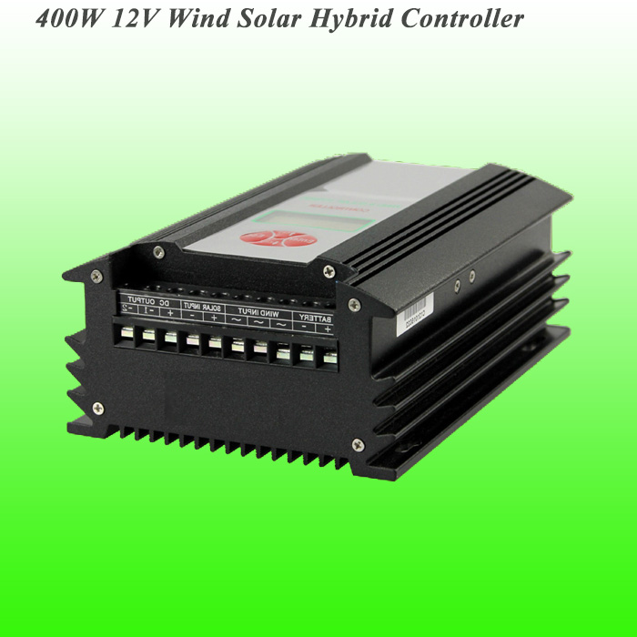 2019 Hot Selling 400W 12V PWM Wind Solar Hybrid Controller With CE ROHS ISO9001 Approved 3