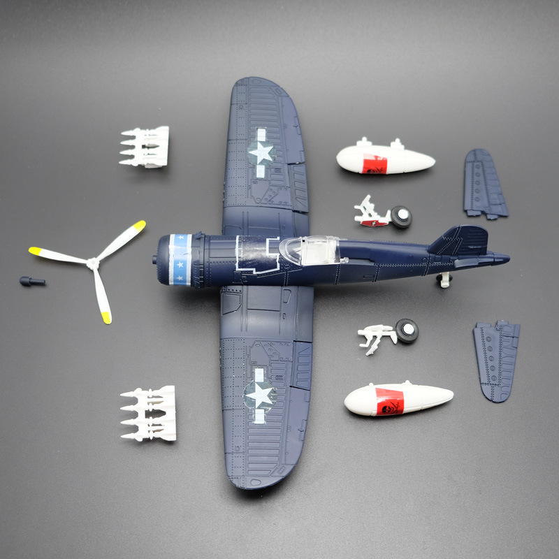Blades Propeller For Tempest F4U 1/48 Scale Fighter Model Toys Flanker Combat  Aircraft Diecast Pirate based combat aircraft model aircraft