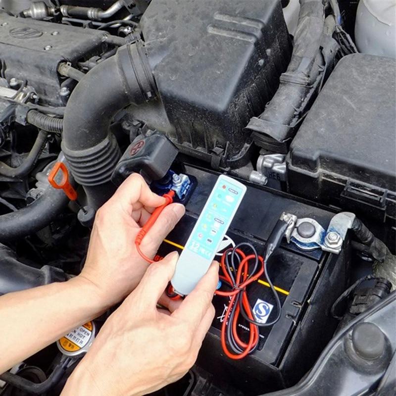 Prix pour Voiture Biopouvoir TECH Système De Charge Du Véhicule Analyseur Testeur de Batterie Auto Circuit Tester Outil De Réparation De Voiture 12 V