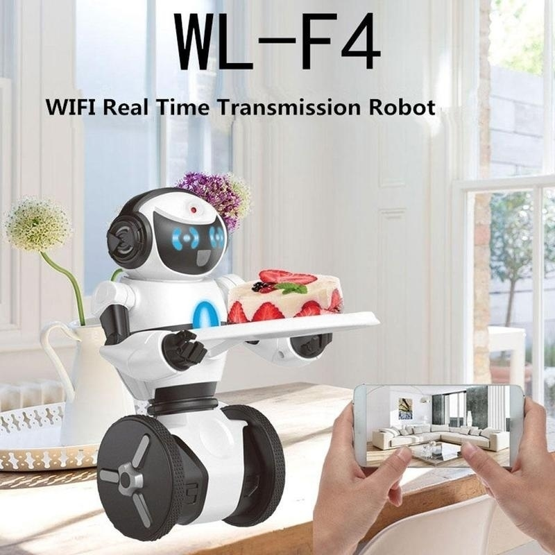 Wltoys F4 Wifi FPV APP Smart balance Robot Control Intelligent G sensor RC Toy for Children gifts - 4