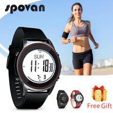10 стилей SPOVAN 70 г ультра тонкие спортивные часы в деловом стиле для мужчин и женщин из натуральной кожи Силиконовый ремешок для часов, за пределами бесплатный ремешок подарок