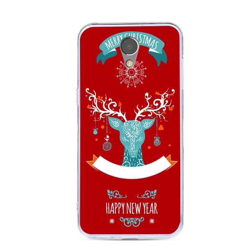 Для Lenovo Vibe p2 чехол силиконовый мультфильм Рождество Мягкий ТПУ задняя крышка для Lenovo Vibe p2 P2a42 P2c72 5,5 дюймов телефонные чехлы
