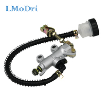 LMoDri Motorcycle Dirt Pit Bike ATV Rear Foot Hydraulic Brake Master Cylinder Pump black Pitch