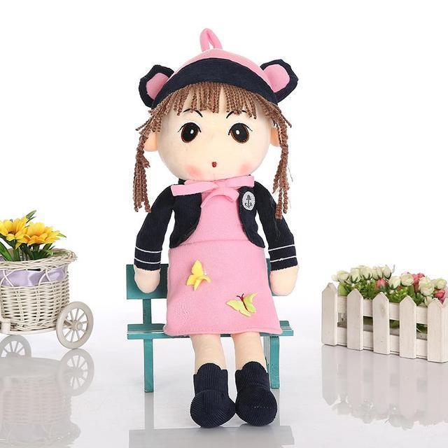 Nova chegada 40 cm Kawaii Angela pelúcia recheado crianças boneca brinquedos macios menina Bonecas Bonecas