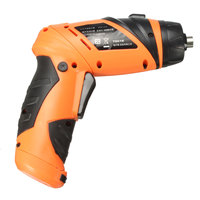 6V Portable Screwdriver Electric Drill Battery Operated Cordless Wireless Mini Electric Screwdriver Multi Function Tool Set