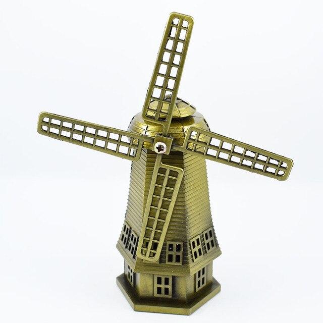 Adesivo Moveis Mdf ~ 12 5 cm de Altura Bronze Cor Netherland Famosos Artesanato Holand u00eas Moinho de Vento Moinho De