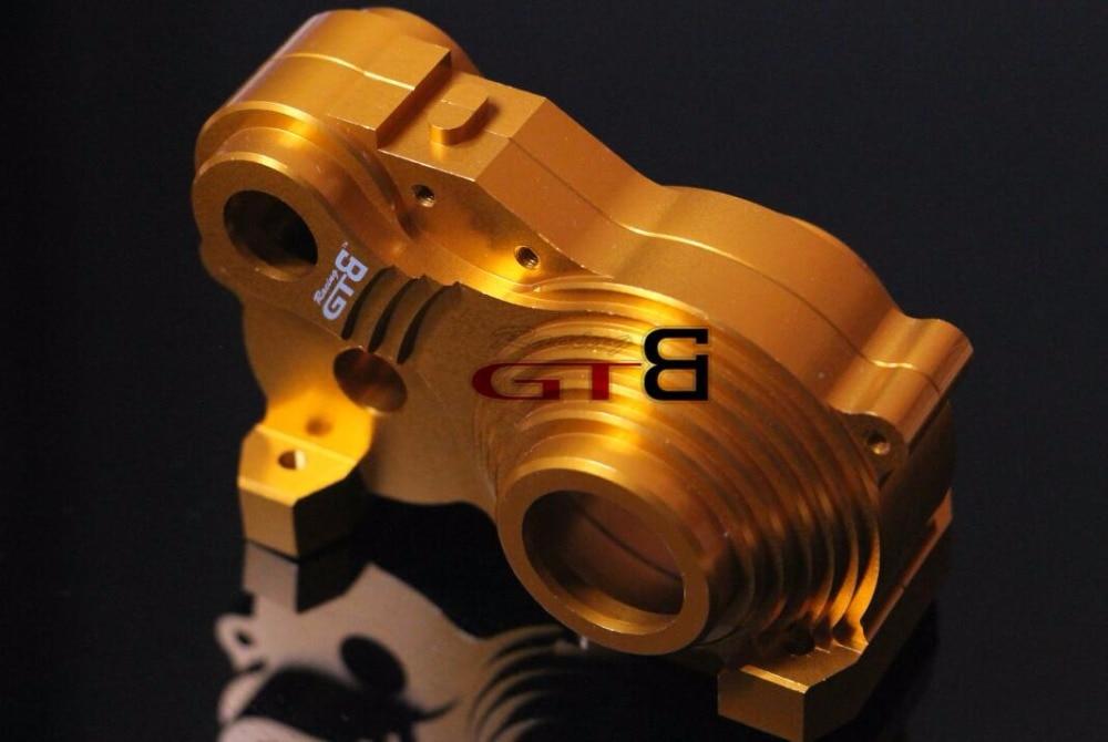 CNC alloy transmission gear box set case for HPI Baja 5B 5T SS 2 0