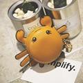 Christmas Gift for girls Crab shaped key holder  key wallets porte cle keysmart cute animal designed key case  bag accessories