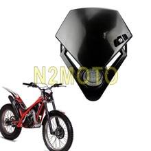 Байк Мотоцикл Универсальный Видение светодио дный фара для GASGAS TXT PRO 280 125 гоночный мотоцикл фара черный