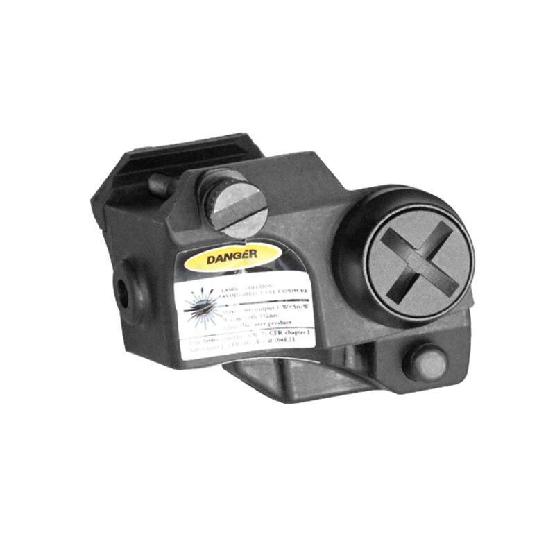 laser com picatinny montagem trilho para 02