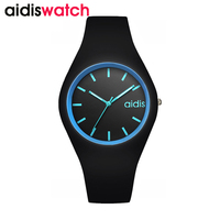 Fashion Sports Ladies Watch Silicone Strap Student Children Quartz Watch Kids Waterproof Clock Reloj Mujer