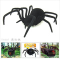 Factory Direct Sunlight New Remote Control Robot Toys Electronic Pet Black Widow Spider Spoof Joke Interactive Toys