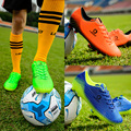 Leoci Soccer Shoes Children Sports Training Football Boots FG Long Spikes Outdoor Lawn Soccer Cleats Sneakers for Football Team