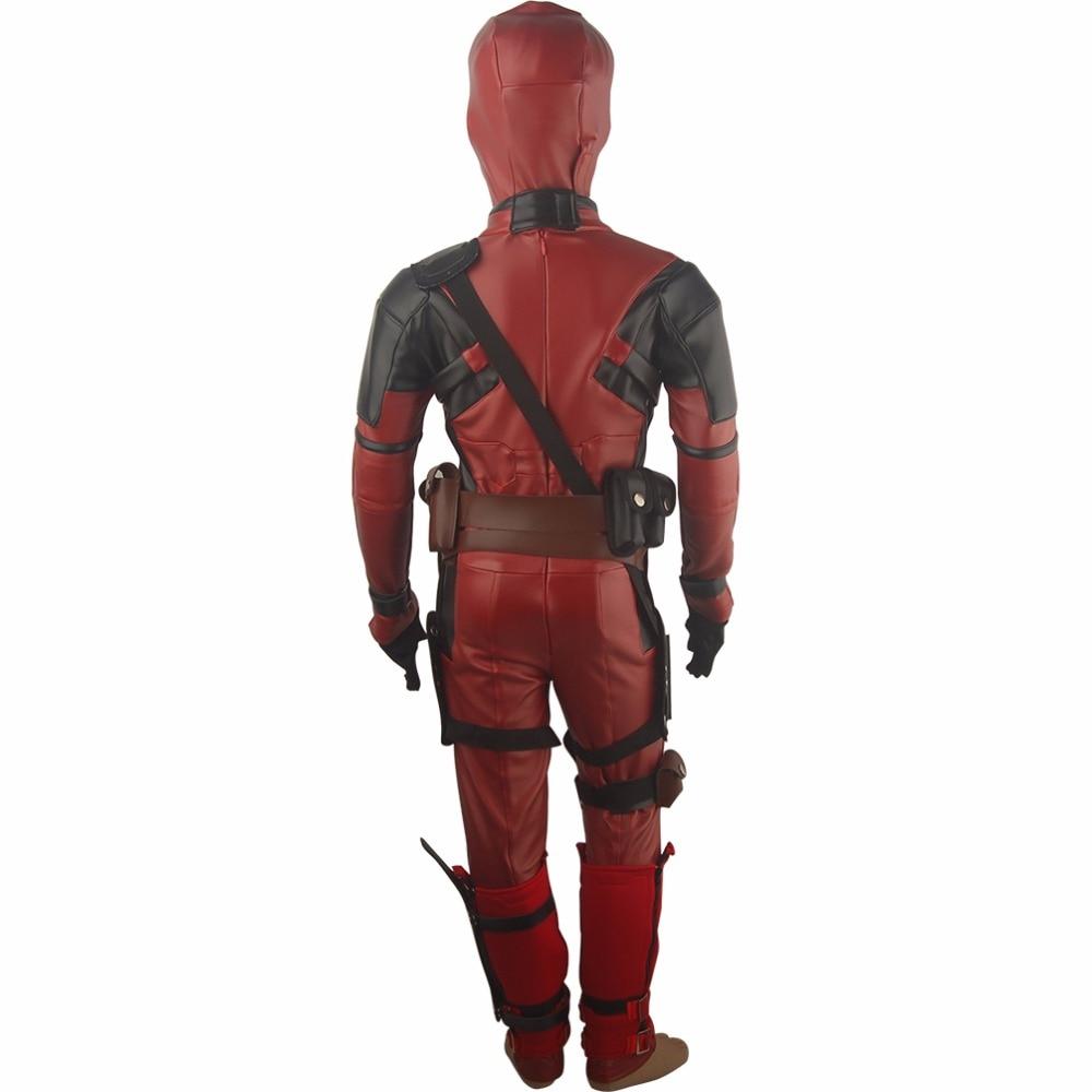 Dzieci Chłopcy X-Men Deadpool Wade Wilson Strój Jednolite - Kostiumy - Zdjęcie 3