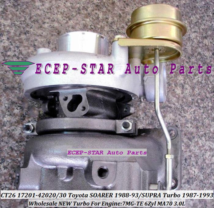 CT26 17201-42020 17201-42030 17201 42020 Turbocharger For TOYOTA - Pjesë këmbimi për automjete - Foto 2