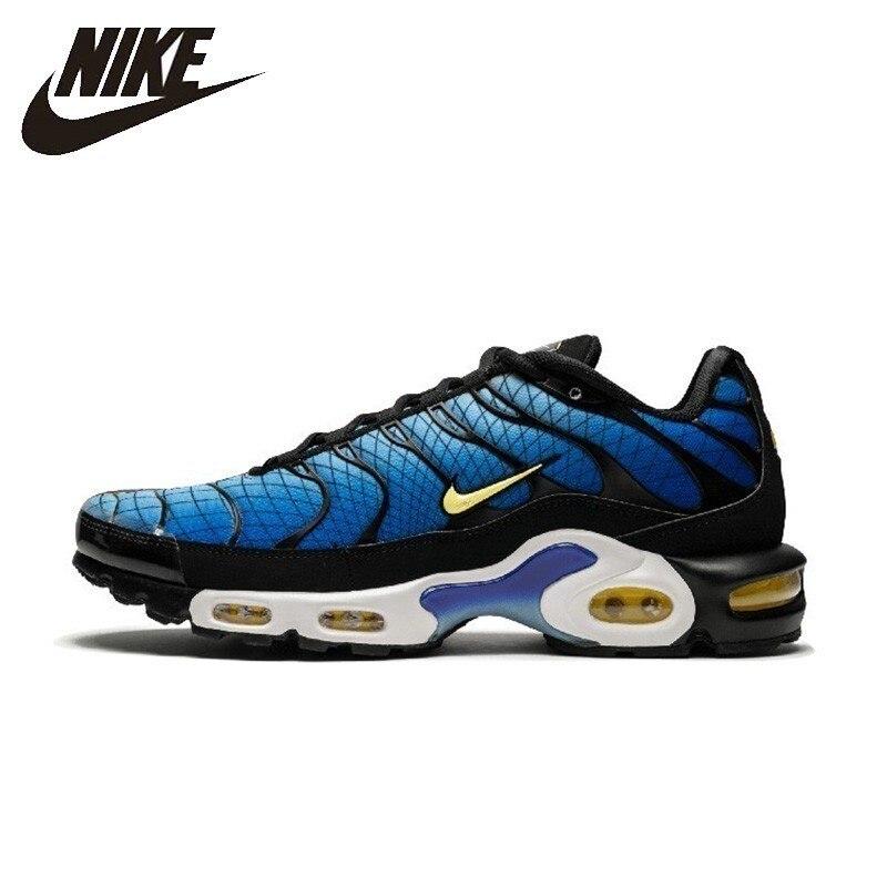 NIKE officiel AIR MAX PLUS TN SE hommes chaussures de course coussin d'air sport baskets anti-dérapant # AJ2013-006