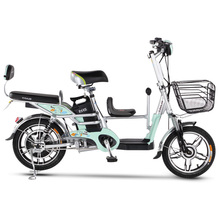 16 inch electric font b bicycle b font 48V lithium battery Child seat family child electric