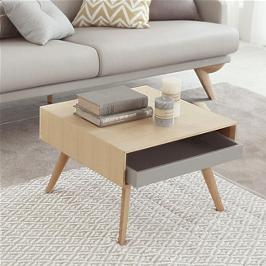 Solid wood living room furniture side table coffee table small tea table hercules 5297