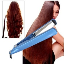 2 IN 1 Professional Hair Straightener Flat Iron Curling Irons Curlers Outils de coiffage US / EU / AU / UK Plug цена и фото