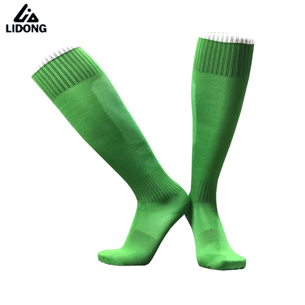 New Unisex Men Women Soccer Socks Leg Support Stretch Sox Thin Breathable Sock Kids Youth Sports Running Football Cycling Socks
