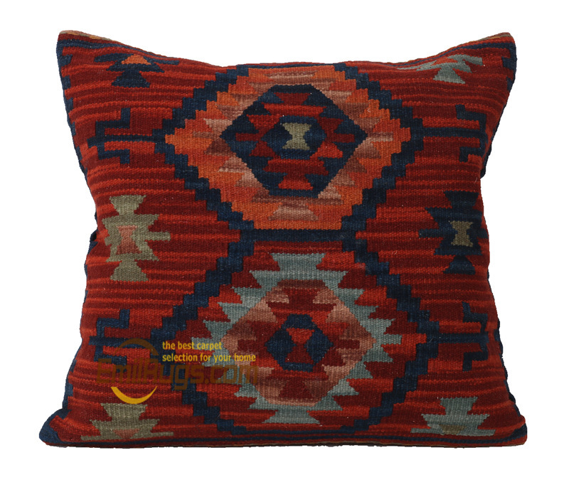 Kerim Thickening Nordic Lightweight Pillow Embroidery Living Room Ethnic Style Sofa Office Pillow Case